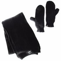 Conjunto Bufanda Y Guantes Originals Unisex Adidas Ab2992