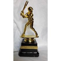 Estatuilla Trofeo Premio Deportes Baseball Personalizado