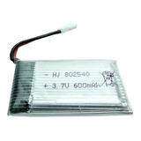 Bateria Lipo 600mah 3.7v Desen Power Recargable Pil