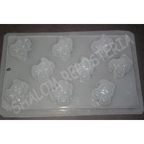 *molde Mediano Para Gomitas Chocolates 9 Mickey Mouse Cara*