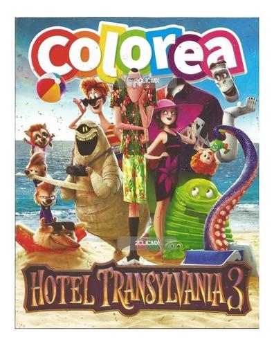 Libros Para Colorear Infantiles Hotel Transilvania 3 Verano En Venta