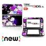 Ci-yu-online Vinyl Skin [new 3ds Xl] - Flower #1 Rose Purpl