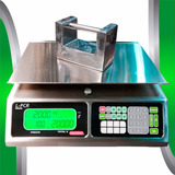 Bascula Digital 40 Kg Torrey  Lpcr Acero Inoxidable Con Luz