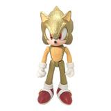 Juguete Super Sonic Golden Erizo Dorado Figura 24cm Boom X