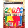 Videojuego Disney Sing It Jonas Miley Demi Zac Efron Ps2