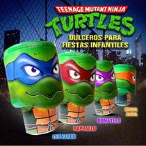 Dulcero Tortugas Ninja Fiestas Infantiles Centro Mesa Dulces