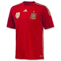 Jersey Adidas España Mundial Brasil 2014 Adizero Jugador