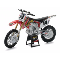 Replica A Escala New-ray Geico Honda Race Team Bike 2012