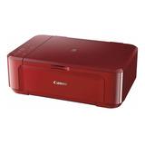 Impresora A Color Multifunción Canon Pixma Mg3610 Con Wifi 110v/220v Roja