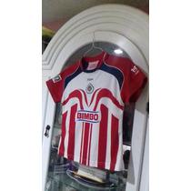 a5f1cdacb54 Jersey Chivas Guadalajara Para Dama 101 Años Talla S Chica en venta ...