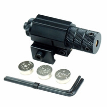 Mira Laser Tactica Laser Red Dot Para Rifle Pistola Ajustabl
