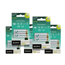 Pilas Recargables Sony Bateria Cycleenergy 6 Pzas Doble A