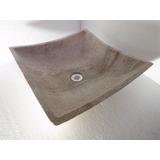 Lavabo Ovalin Mármol Decoración Moderno Minimal Beige Crema