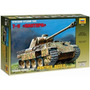 Tanque Zvezda Panther Ausf. D 1/35 Armar Pintar / No Revell