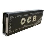 3 Carteras Ocb Premium + Filtros Papel De Rolar (sábanas)