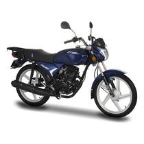Moto Italika Ft125 Ts Azul