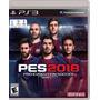 Pro Evolution Soccer 2018 Pes 2018 Ps3 Nuevo