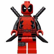 Marvel Custom Lego Batman Deadpool Galactus Supergirl Dc