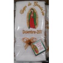 Recuerdo Toallitas Bordadas Para Rezos Virgen De Guadalupe