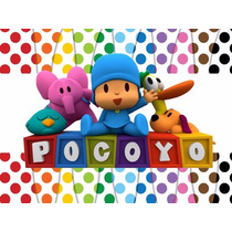 Kit Imprimible Pocoyo Candy Bar Cotillon Invitaciones 2x1