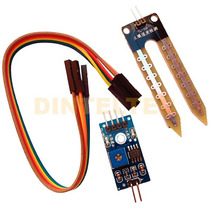 Sensor Humedad Suelo Yl-69 Usa Arduino Sg90 Hc-05 Lm393 Lm35