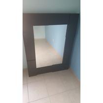 Espejo Negro Acabado Moderno