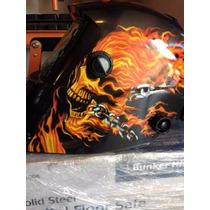 Careta Electronica P/soldar Ghost Rider Nueva