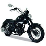 Moto Italika Tc 200 Negra