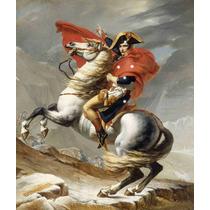Lienzo Tela Napoleón 1801 Jacques Louis D 59x50 Neo Clásico