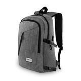 Redlemon Mochila Impermeable Ejecutiva Para Laptop Y Tablet