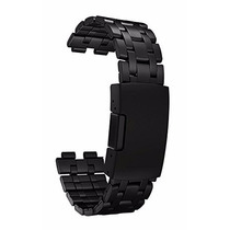 Extensible De Metal Pebble Acero Inoxidable -color Negro
