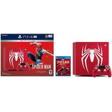 ...:: Consola Ps4 Pro Edicion Especial Spiderman 1tb 4k ::..