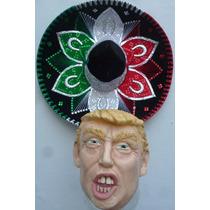 Sombrero Charro Tricolor Mariachi Folklor Baile Regional Ddi