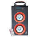Boom Box Bocina Portatil Bluetooth  120w Control Recargable
