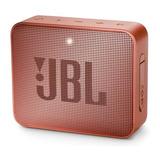 Bocina Jbl Go 2 Portátil Con Bluetooth Sunkissed Cinnamon