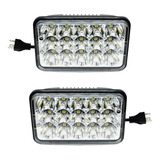 Par Faros 15 Led 4x6 Rectangular Unidad 4656- Tunix