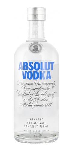 Vodka Absolut Blue 750ml