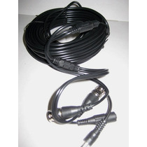 Rollo D Cable Siames 20mts Para Camara Cctv .video Y Voltaje