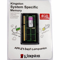 Kingston Ddr3 1333mhz Cl9 Sdram Ram - Apple Mac Memoria 4gb