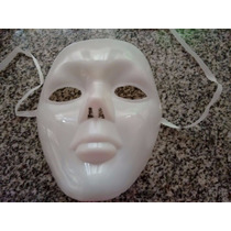 Mascara Blanca Tipo Fantasma De Opera,hallowen.fiesta.