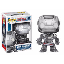 War Machine Funko Pop Civil War Maquina De Guerra Iron Man