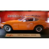 Datsun 1971 240z Escala 1/18 No Auto Art, Eart, Burago