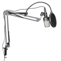 Paquete Accesorios Microfono Estudio Soporte Antipop Y Araña