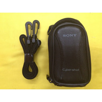 Estuche Piel Para Cámara Fotográfica Sony Cyber-shot