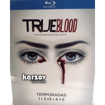 True Blood. Boxset Serie Completa Temporadas 1 - 5 Blu-ray