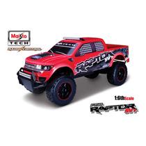 Camioneta Maisto Ford F-150 Raptor Control Remoto Escala 1:6