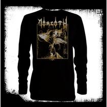 Morgoth -cursed Logo Camiseta Manga Larga Death Metal