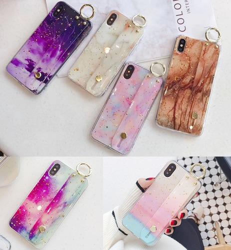 6826f9e4d92 Funda Marmol Agarradera Galaxia iPhone 6 7 8 Plus Xr Xs Max en venta ...