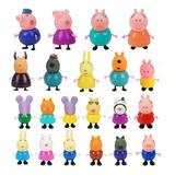 Figuras De Juguete Peppa Pig Para Niños 21 Piezas