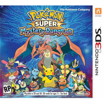 Pokemon Super Mystery Dungeon Nintendo 3ds Blakhelmet Sp